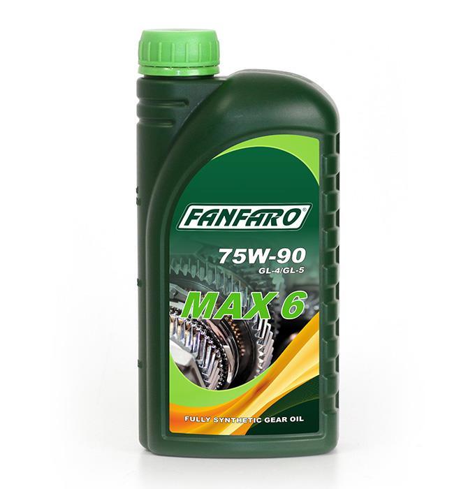 Масло трансмиссионное FANFARO MAX-6 75W-90, 1л Fanfaro 535418