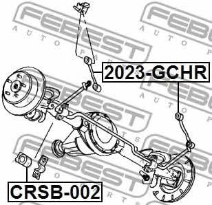 Febest CRSB-002