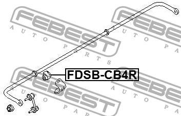 Febest FDSB-CB4R