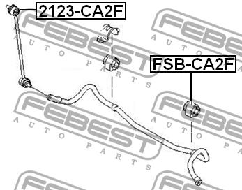 Febest FSB-CA2F
