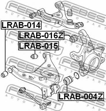 Febest LRAB-014