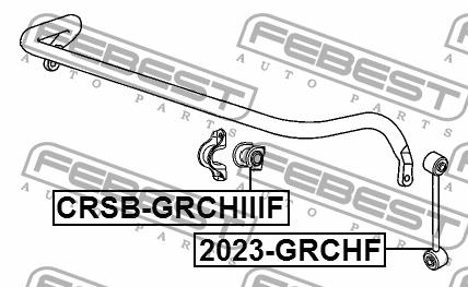 Febest CRSB-GRCHIIIF