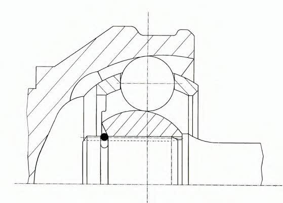 Шарнир равных угловых скоростей (ШРУС)