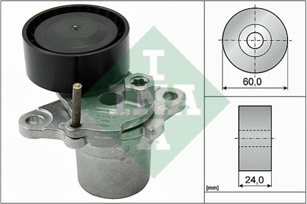 Натяжитель ремня поликлинового (приводного)