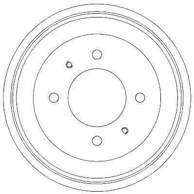 Барабан тормозной Jurid/Bendix 329274J