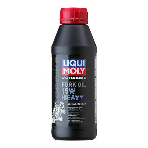 Масло гидравлическое Liqui Moly Mottorad Fork Oil Heavy 15W, 0,5 л