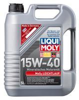 Масло моторное Liqui Moly MoS2 Leichtlauf 15W-40, 5 л