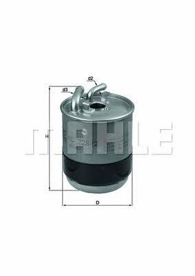 Фильтр топливный Mahle/Knecht KL 228/2D