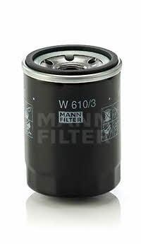 Фильтр масляный MANN-FILTER W 610/3