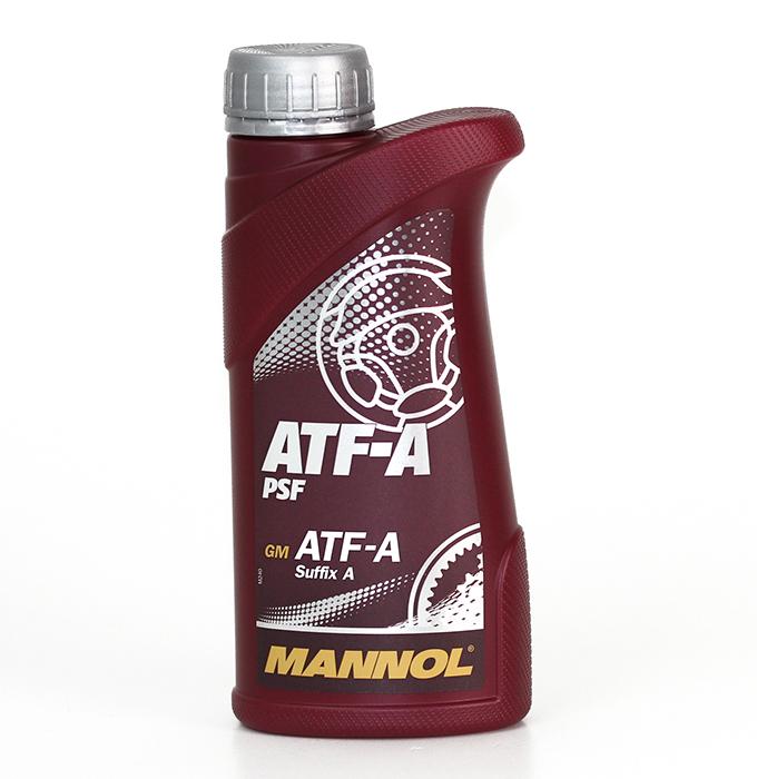 Масло трансмиссионное Mannol ATF-A PSF, 0,5 л
