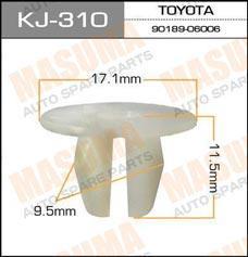 Клипса автомобильная (автокрепеж)   310-KJ (уп.50)