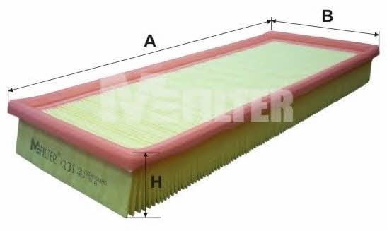 Фильтр воздушный M-Filter K 131