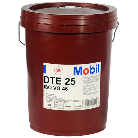 Масло гидравлическое Mobil DTE 25, 20 л Mobil 127674