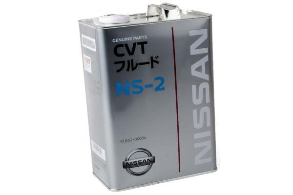Масло трансмиссионное Nissan CVT NS-2, 4 л Nissan KLE52-00004 - фото 3