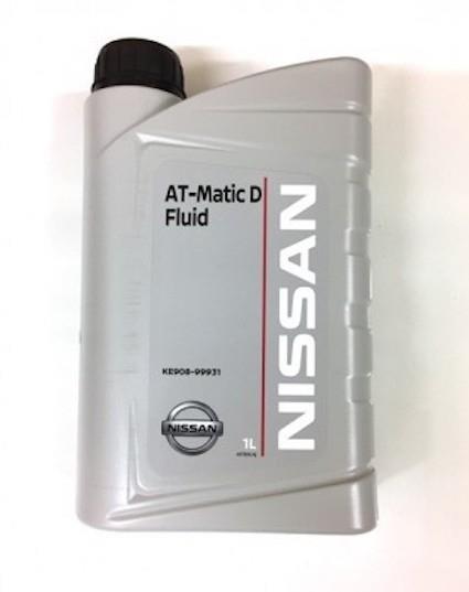 Масло трансмиссионное Nissan ATF Matic Fluid D, 1 л