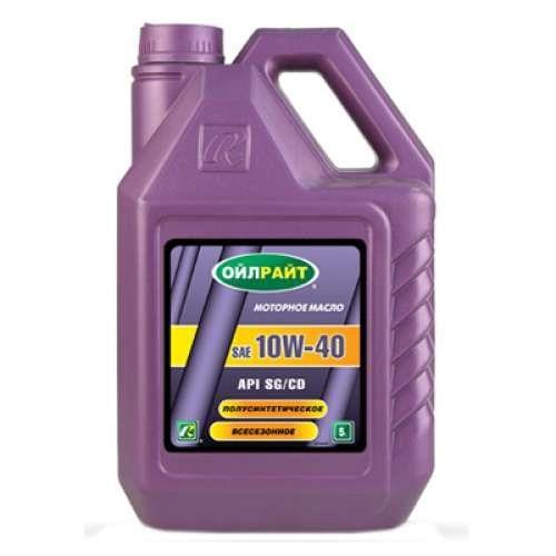 Масло моторное Oilright 10W-40 SG/CD, 1 л