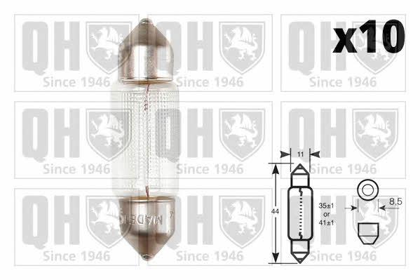 Лампа накаливания C10W 12V 10W Quinton Hazell QBL264