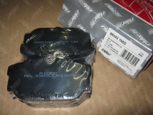 Колодки тормозные дисковые, комплект Rider RD.3323.DB1325