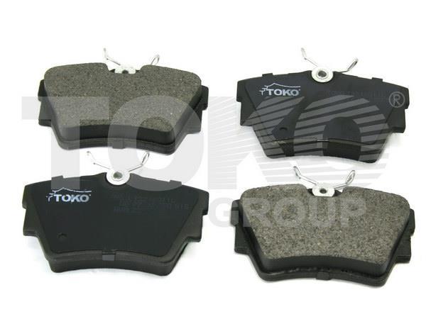 Колодки тормозные, комплект Toko T2246011L