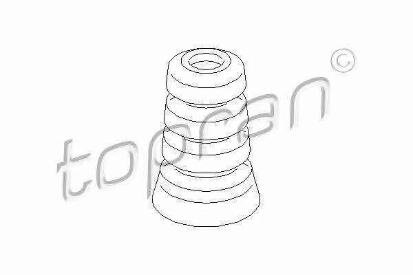 Отбойник амортизатора Topran 721 802