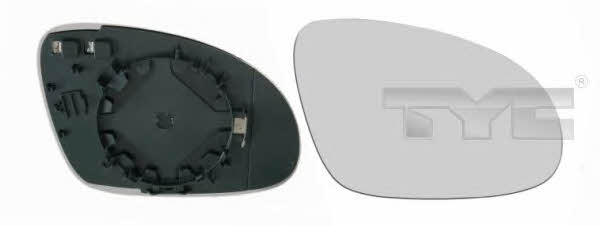 Стекло зеркала правого c подогревом, сферическое TYC 337-0093-1
