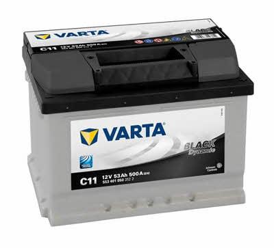 Батарея аккумуляторная Varta Black Dynamic 12В 53Ач 500A(EN) R+