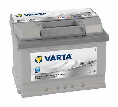 Батарея аккумуляторная Varta Silver Dynamic 12В 61Ач 600A(EN) R+