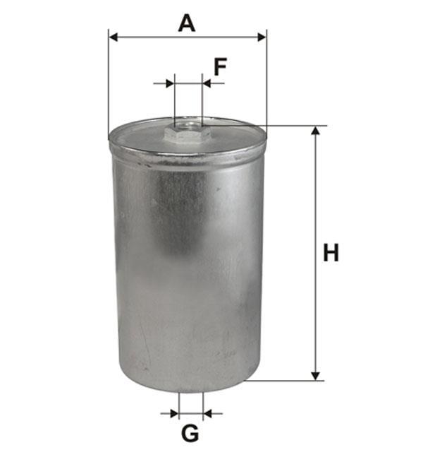 Фильтр топливный WIX WF8027