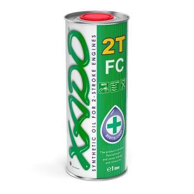 Масло моторное Xado Atomic Oil 2T FC, 1 л