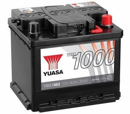 Батарея аккумуляторная Yuasa YBX1000 CaCa 12В 40Ач 350A(EN) R+