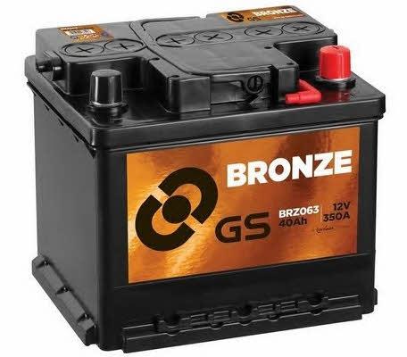 Батарея аккумуляторная Gs 12В 40Ач 350A(EN) R+