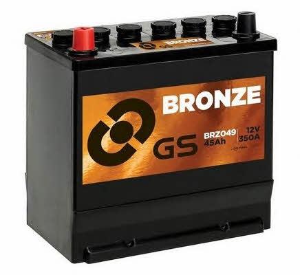 Батарея аккумуляторная Gs 12В 45Ач 350A(EN) L+