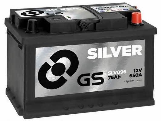Батарея аккумуляторная Gs 12В 75Ач 650A(EN) R+
