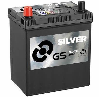 Батарея аккумуляторная Gs 12В 36Ач 330A(EN) L+