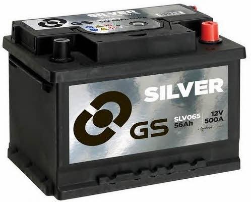 Батарея аккумуляторная Gs 12В 56Ач 500A(EN) R+ Gs SLV065