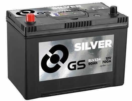 Батарея аккумуляторная Gs 12В 90Ач 700A(EN) L+ Gs SLV334