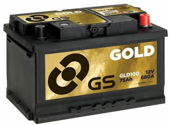 Батарея аккумуляторная Gs 12В 75Ач 680A(EN) R+