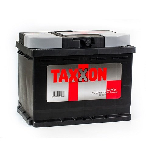 Батарея аккумуляторная Taxxon 12В 60Ач 550A(EN) L+